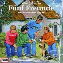 Fünf Freunde (Folge 109) - und die mysteriöse Botschaft, CD