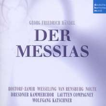 Georg Friedrich Händel (1685-1759): Der Messias (in dt.Sprache), 2 CDs