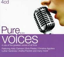 Pure...Voices, 4 CDs