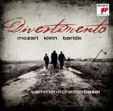 Kammerorchester Basel - Divertimento, CD