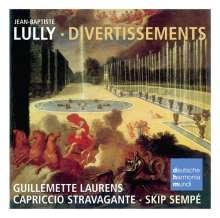 Jean-Baptiste Lully (1632-1687): Divertissements, CD