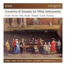 Konzerte & Kammermusik für Bläser, 10 CDs