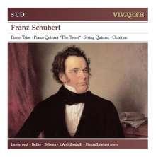 Franz Schubert (1797-1828): Kammermusik, 5 CDs