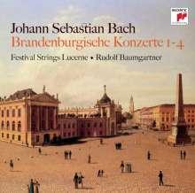 Johann Sebastian Bach (1685-1750): Brandenburgische Konzerte Nr.1-4, CD