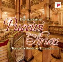 Giacomo Puccini (1858-1924): Arien, CD