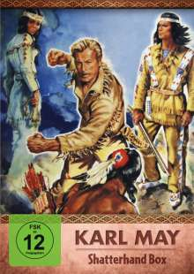 Karl May Shatterhand-Box, 2 DVDs