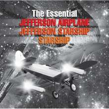 Jefferson Airplane, Jefferson Starship & Starship: The Essential, 2 CDs