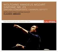 Wolfgang Amadeus Mozart (1756-1791): Symphonie Nr.23, CD