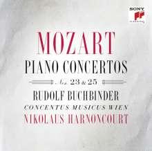 Wolfgang Amadeus Mozart (1756-1791): Klavierkonzerte Nr.23 & 25, CD