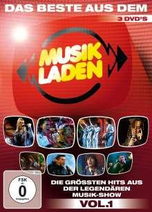 Das Beste aus dem Musikladen: Die größten Hits aus der legendären Musik-Show Vol. 1, 3 DVDs