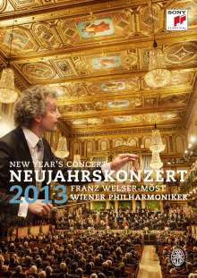 Neujahrskonzert 2013 der Wiener Philharmoniker, DVD
