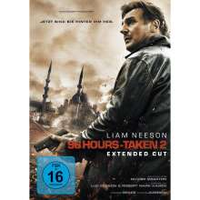 96 Hours: Taken 2 (Extended Cut), DVD