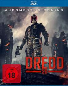 Dredd (3D Blu-ray), Blu-ray Disc