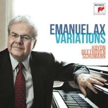 Emanuel Ax - Variations, CD