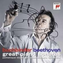 Ludwig van Beethoven (1770-1827): Klaviersonaten Nr.8,14,23,26, CD