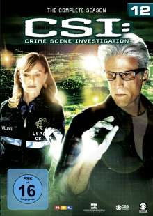 CSI Las Vegas Season 12, 6 DVDs