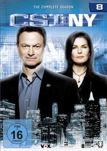 CSI New York Season 8, 6 DVDs