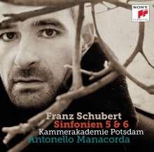 Franz Schubert (1797-1828): Symphonien Nr.5 & 6, CD