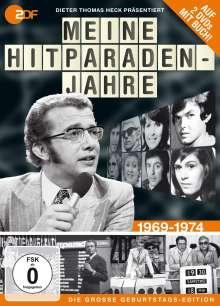 Meine Hitparadenjahre 1969 - 1974 (Geburtstagsedition präs. von Dieter Thomas Heck) (2 DVDs + Buch), 2 DVDs