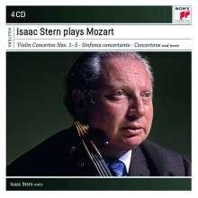 Wolfgang Amadeus Mozart (1756-1791): Violinkonzerte Nr.1-5, 4 CDs