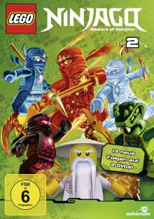 LEGO Ninjago 2, 2 DVDs