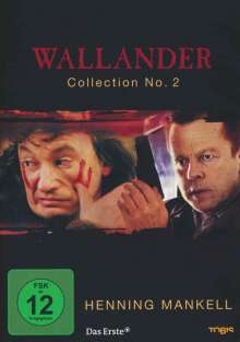 Henning Mankell: Wallander Collection Vol.2, 2 DVDs