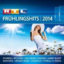 RTL Frühlingshits 2014, 2 CDs