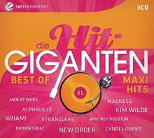 Die Hit-Giganten - Best of Maxi Hits, 3 CDs