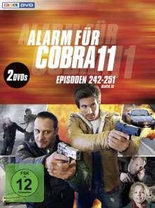 Alarm für Cobra 11 Staffel 31, 2 DVDs