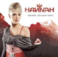 Hannah: Weiber, es isch Zeit!, CD