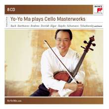 Yo-Yo Ma plays Cello Masterworks, 8 CDs