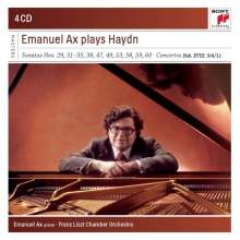 Joseph Haydn (1732-1809): Klaviersonaten H16 Nr.20,23,32-34,36,43-46,48-50, 4 CDs