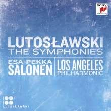 Witold Lutoslawski (1913-1994): Symphonien Nr.1-4, 2 CDs