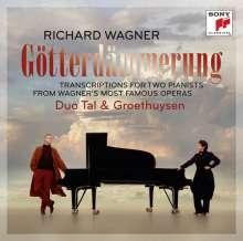 Richard Wagner (1813-1883): Götterdämmerung -Transkriptionen für Klavier 4-händig, CD