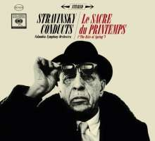 Igor Strawinsky (1882-1971): Stravinsky conducts Le Sacre du Printemps, 2 CDs