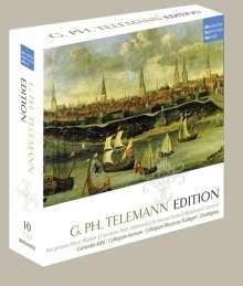 Georg Philipp Telemann (1681-1767): Georg Philipp Telemann Edition (dhm), 10 CDs