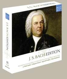 Johann Sebastian Bach (1685-1750): Johann Sebastian Bach Edition (dhm), 10 CDs