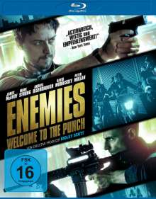 Enemies - Welcome to the Punch (Blu-ray), Blu-ray Disc