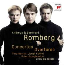 Andreas Romberg (1767-1821): Violinkonzert Nr.3, 2 CDs