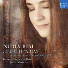 Nuria Rial - Bach Arias, CD