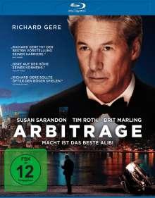 Arbitrage (Blu-ray), Blu-ray Disc