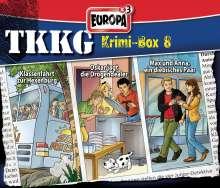 TKKG Krimi-Box 08, 3 CDs