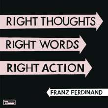 Franz Ferdinand: Right Thoughts, Right Words, Right Action (Jewelcase), CD