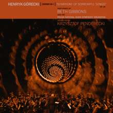 Beth Gibbons & The Polish National Radio Symphony Orchestra: Henryk Górecki: Sinfonie Nr. 3 (Limited-Edition), 1 CD und 1 DVD