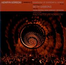 Beth Gibbons & The Polish National Radio Symphony Orchestra: Henryk Górecki: Sinfonie Nr. 3, CD
