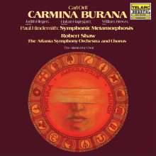 Carl Orff (1895-1982): Carmina Burana (DMM Direct Cut / 180g), 2 LPs