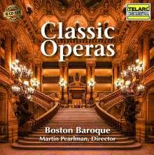 Classic Operas (5 Opern-Gesamtaufnahmen), 6 CDs