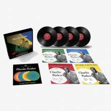 """Charlie Parker (1920-1955): The Savoy 10-Inch LP Collection (Box Set) (remastered) (Limited Edition), 4 Singles 10"""""""