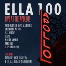Ella 100: Live At The Apollo!, CD