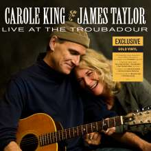 James Taylor & Carole King: Live At The Troubadour (180g) (Limited Edition) (Gold Vinyl), 2 LPs